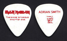 Iron Maiden Adrian Smith Book Of Souls Chapter One White Guitar Pick - 2016 Tour