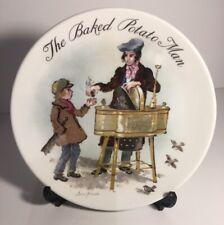 Vintage Wedgwood Street Sellers Of London Plate 'The Baked Potato Man'