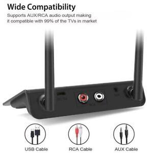 2 in1 Bluetooth 5.0 Long Range transmitter Receiver Low Adapter Latency KJ
