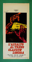 L58 Plakat L'Assault Al Zug Glasgow London Horst Tappert Harry Engel Fisch