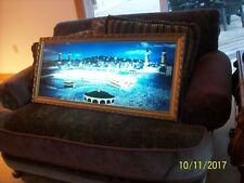 Reversed Painted Vintage Lighted Wall Hanging Art Work Of Coliseum Shadow Box