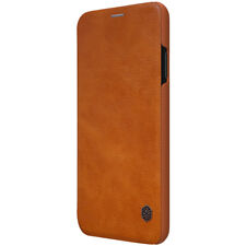 Apple iPhone Xs Max Case 360° Protection [with Card Holder] Leather Wallet Case