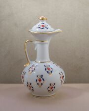 Vintage Dresden???  Lidded Pitcher Gold trim just Beautiful Stamped/Marked NICE