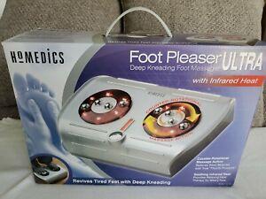 Homedics Foot Pleaser Ultra Massager with Infrared HEAT