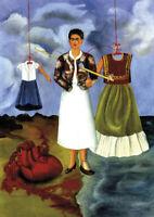 Frida Kahlo - A3 size 29.7x42cm QUALITY Decor Canvas Art Print Poster Unframed