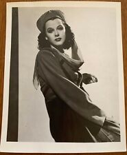 Vtg Publicity Photo HEDY LAMARR Hollywood Beauty / Genius Inventor
