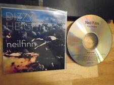 RARE ADVANCE PROMO Neil Finn CD Dizzy Heights SPLIT ENZ Crowded House pearl jam