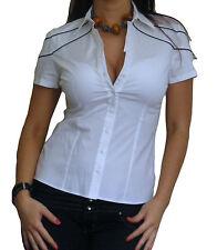 Damenblusen,-Tops & -Shirts mit Klassischer Kragen und Baumwolle für Party