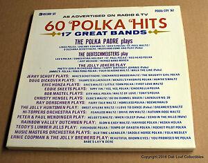 60 Polka Hits 17 Great Bands Label: Polka City PC 362 - 3 LP Vinyl box set