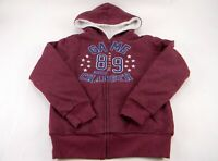 Lee Boy's Sherpa lined Hoodie Jacket Heather Red Size S-7/8