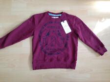 NEU Tom Tailor Pullover Gr. 140 S Sweatshirt dunkelrot
