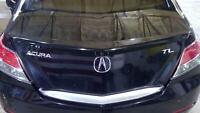 09-14 Acura TL Trunk/Decklid Assembly (Crystal Black 731) Aftermarket Spoiler