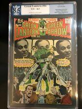 Green Lantern #84 PGX (not CGC) VF+ 8.5 Off White to White Neal Adams!