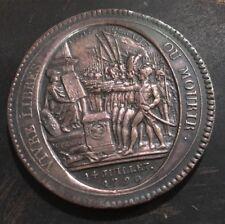MONNERON de 5 sols  1792