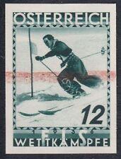 Österreich 1936 FIS Nr. 623 PU II schwärzlichopalgrün Probedruck Befund