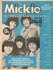 Mickie Magazine No.8  1972   The Osmonds  Neil Diamond  Noddy Holder  Elton John