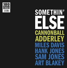 CANNONBALL ADDERLEY-Somethin` Else VINYL NEW