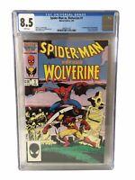 Spider-Man Vs Wolverine 1 - CGC Graded 8.5
