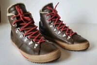 Converse Chuck Taylor All Star junior youth sz 5 brown leather high tops