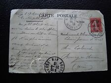 FRANCE - carte fm 1912 (2eme choix) (cy96) french