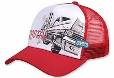 Coastal surf & cars & Chicks (Deep Red) Trucker Cap Mesh gorra capuchón meshcap basecap