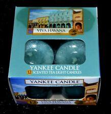 Yankee Candle  TEELICHTER, VIVA HAVANNA, 12 Stck., Sehr Selten