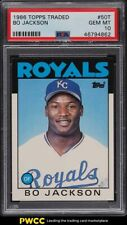 1986 Topps Traded Bo Jackson ROOKIE RC #50T PSA 10 GEM MINT