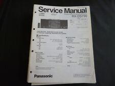 Original Service Manual Panasonic RX-DS790