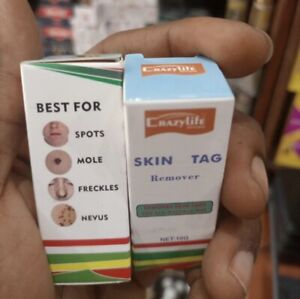 1x SKIN TAG Remover The natural way Spots Mole Freckles Etc 10g