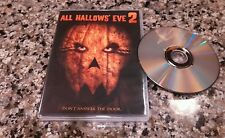 ALL HALLOW'S EVE RARE DVD! PUMPKIN-FACE KILLER! RLJ ENTERT. 2015 BRYON NORTON