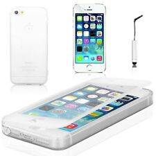 Housses et coques anti-chocs transparents iPhone 5c en silicone, caoutchouc, gel pour téléphone mobile et assistant personnel (PDA)