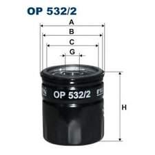 Oil Filter Engine FILTRON (Op532/2)