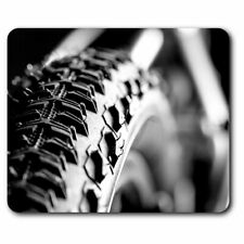 Computer Mouse Mat - Bicycle Tyre Bike Cycling Office Gift #2753