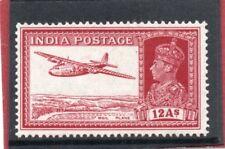 India GV1 1937 12a lake sg 258 HH.Mint