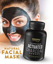 100% PURE Activated Charcoal Power (4 oz) for FACIAL MASKS DIY Recipes, ACNE