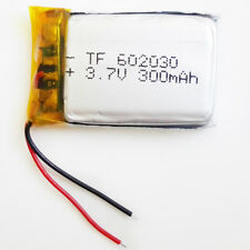 300mAh 3.7V Lipo Polymer Rechargeable Battery For MP3 MID bluetooth GPS 602030