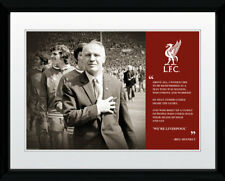 Liverpool F.C. Legend Bill Shankly Picture Frame 16x12 Inch - Official