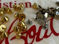 Christian Louboutin GOLD Replacement Stud Spike AND Backing Spike fixings