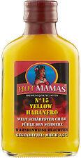 (100ml € 6,49) HotMamas Chilisauce No 15 yellow Habanero 100ml