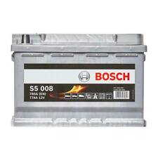 Bosch Car Battery 12V 77Ah Type 096 780CCA 5 Years Wty Sealed OEM Replacement