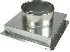 12x12x10 in. Galvanized-Steel Ceiling Register Box HVAC Duct Boot Venting Part