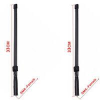 2X CS Tactical PMR Radio Antennas SMA-F Female BaoFeng UV-5R UV-82 Walkie Talkie