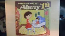 RARE SONGS FOR YOU BY MARCY Zondervan Records LP 1966