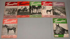 "55 Lot of 7 Horse Racing "" Throughbred  Canada"" Issues"