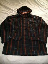 Guys Size L Matix Marc Johnson Wool Coat, Cool! Great Shape! Free Shipping!