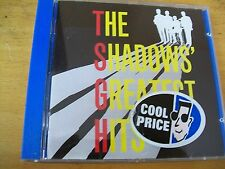 THE SHADOWS GREATEST HITS   CD MINT- UK