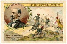 CHROMOS.  LES EXPLORATEURS CELEBRES.  EMILE GENTIL Né EN 1866