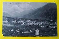 AOSTE: Aoste et le bassin de la Doire Balthée 1913