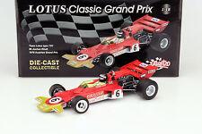 J. Rindt Lotus Typ 72C #6 Österreich GP Formel 1 1970 1:18 Quartzo