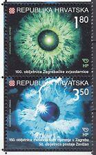 CROATIA 2003 **MNH SC# #  513 Astronomy and Meteorology - pair